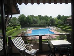 Holiday apartment with pool